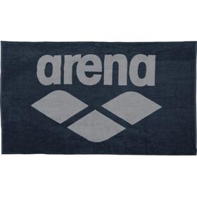 arena Pool Soft Asciugamano, blu/grigio
